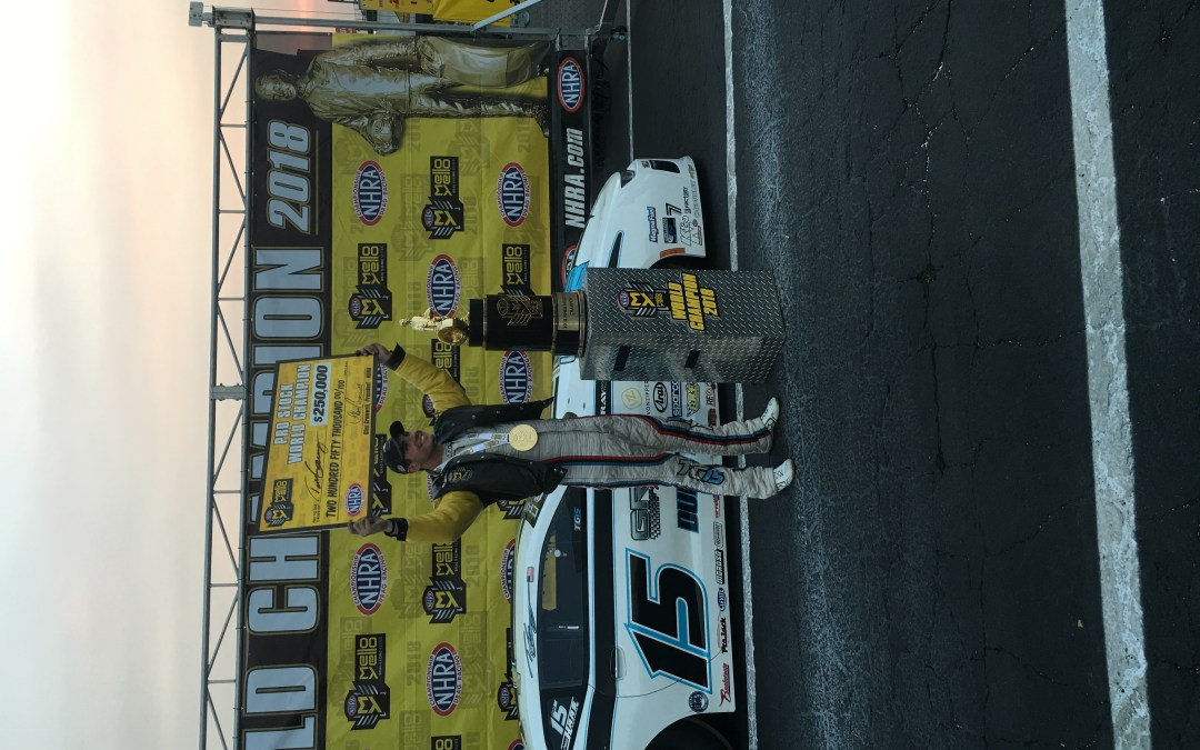 Gray wins Pro Stock title, Pomona field set