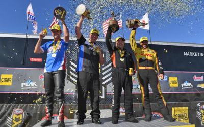 2019 Denso Spark Plugs NHRA Four-Wide Nationals results