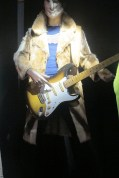 Ronnie Wood's fur coat worn during the band's 1975 tour announcement from a flatbed truck rolling down the heart of NYC.