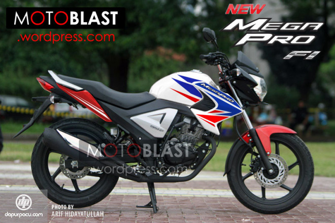 Review Honda New Megapro FI 1
