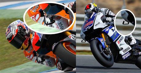 Kenapa Handguard MotoGP Cuma Sebelah ?