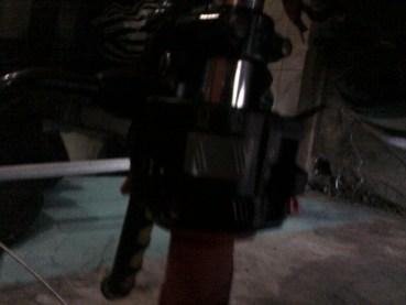 pasang lampu drl di motor