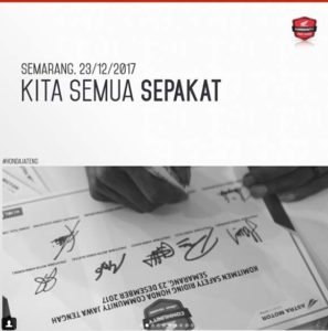 Deklarasi Honda Community Jawa Tengah