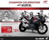 Promo Honda CBR250RR tahun 2018