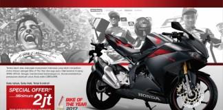 Diskon Honda CBR250RR