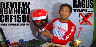 Review Helm Honda CRF150L Versi Apparel