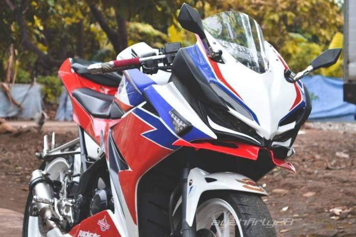 Modifikasi Honda CBR150R Keren Abis