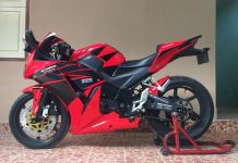 Modifikasi Honda CBR150 K45A