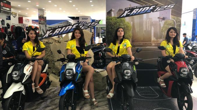 Warna Baru Yamaha X-Ride 2018