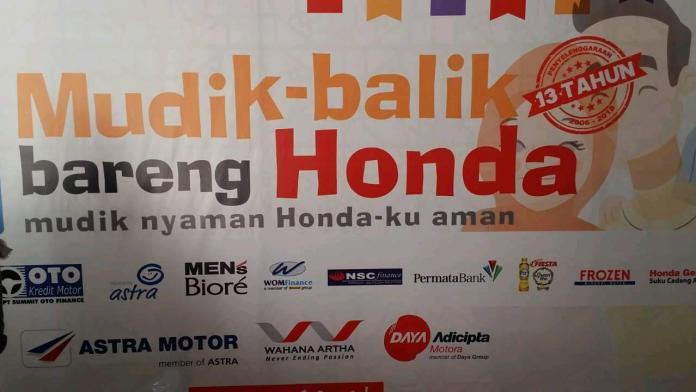 Balik Bareng Honda 2018 Berangkatkan 360 Peserta