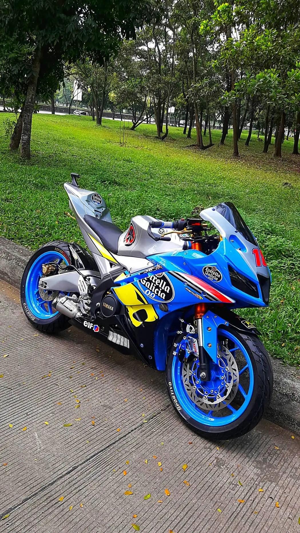 Modifikasi Yamaha R15 V2 Keren Abis Rpmsuper Com
