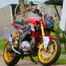 Modifikasi Yamaha New Vixion Model Z1000