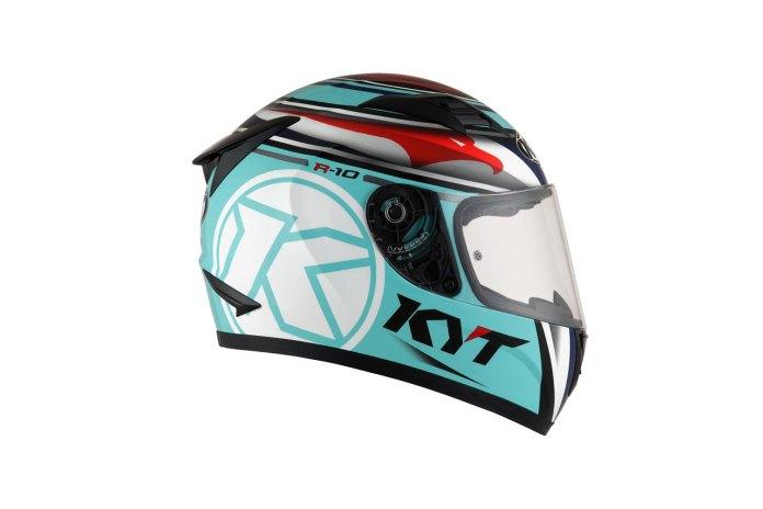 Review KYT R10 Flat Visor