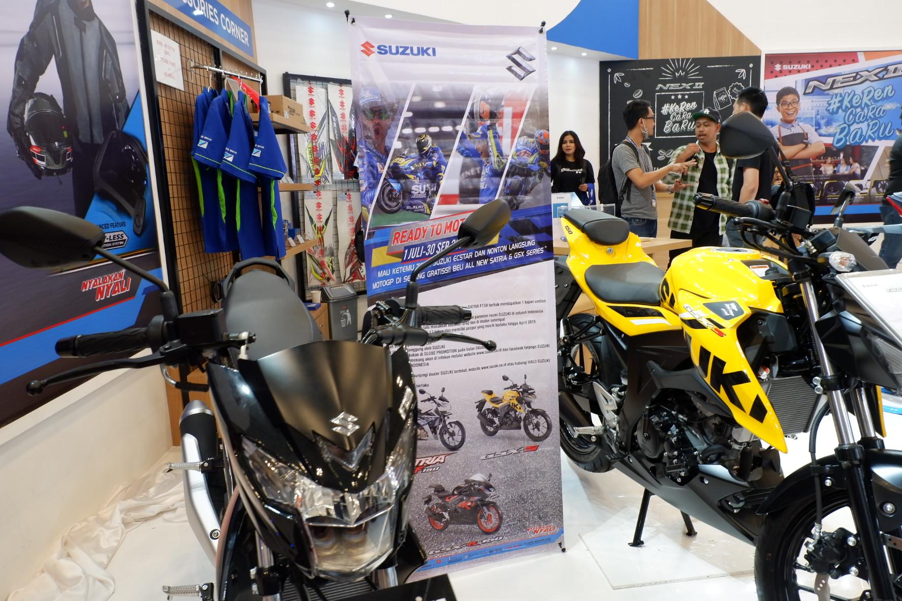 Promo Suzuki Motor di GIIAS 2018