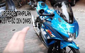 Upgrade Tampilan GSX R150 Den Dimas