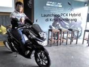 Launching Honda PCX Hybrid di Semarang