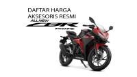Daftar Akesoris Resmi Honda CBR150R dan Harga