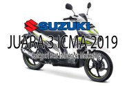 Suzuki Juara 3 Best Marketing Award ICMA 2019