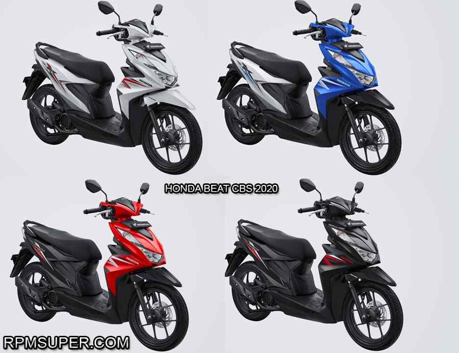 Spesifikasi Honda Beat Terbaru