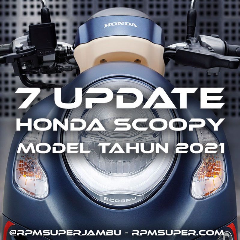 Update Honda Scoopy 2021