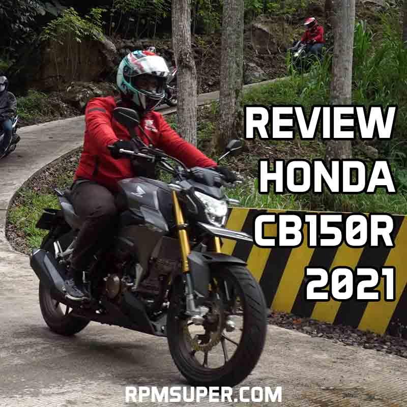 Review Honda CB150R 2021