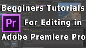 Begginers tutorials for premiere pro in hindi
