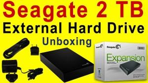 seagate external hdd
