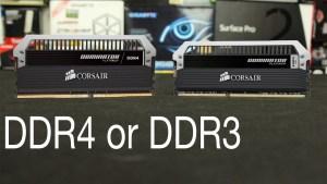 ddr4 vs ddr3