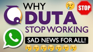 Why Duta Services stop working