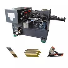 D90 Paper Strip Nail Making Machine High Speed Paper