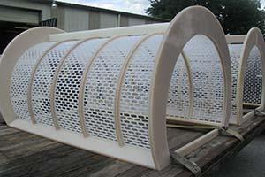 PVDF strainer baskets