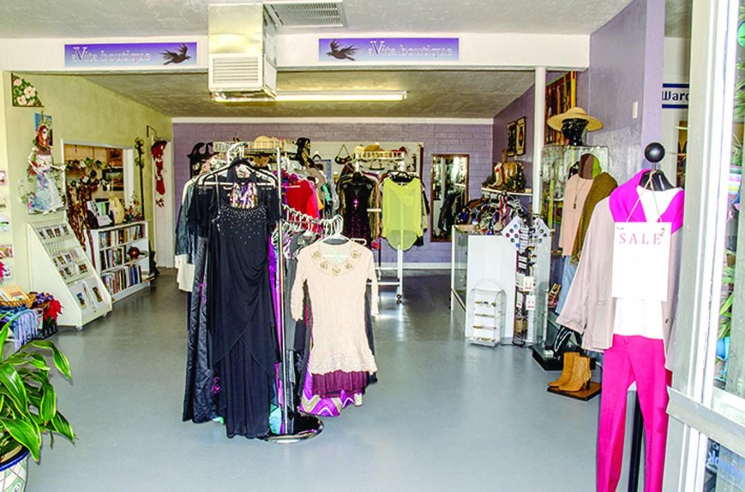 Boutique section