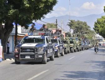 Operativo de la Policía Estatal contribuye a desactivar bloqueos en Oaxaca