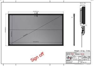 Ambient Light Rejecting (ALR) screen information