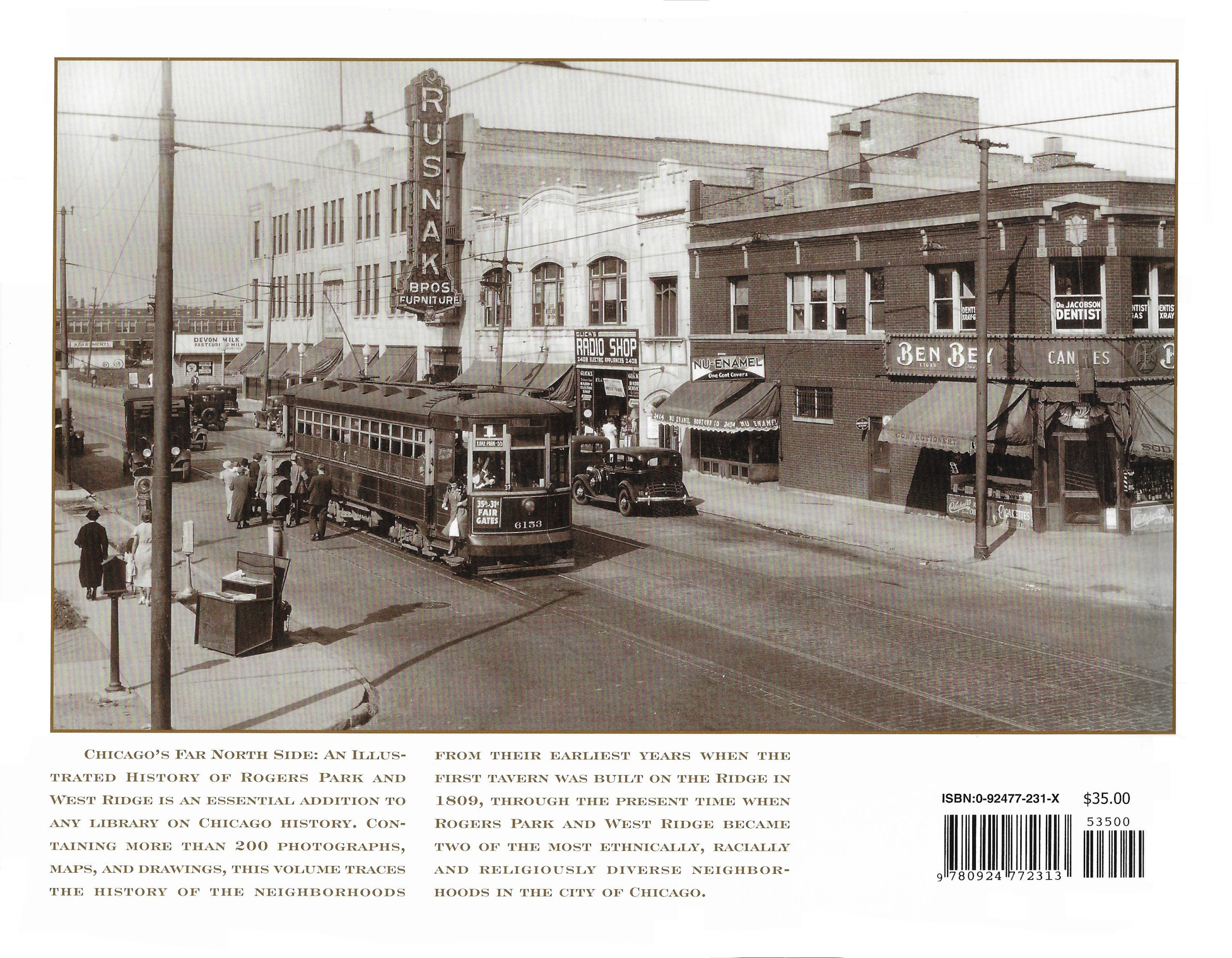 Back Cover: Chicago's Far North Side