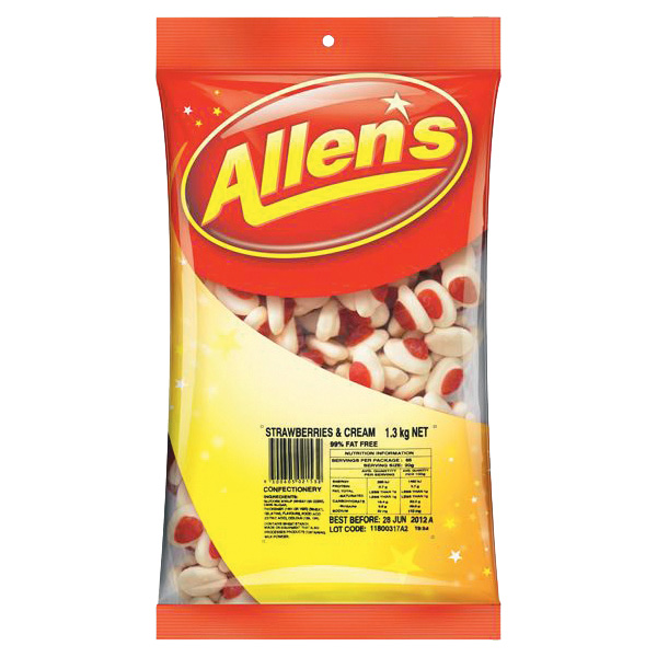 Allen's Strawberries and Cream