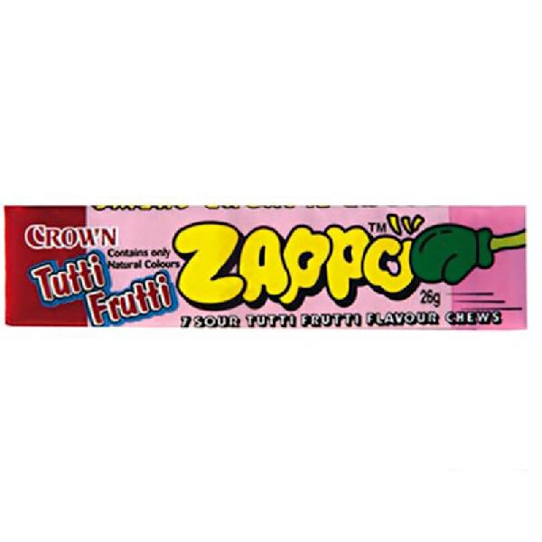 Zappo Sour Tutti Frutti Chews