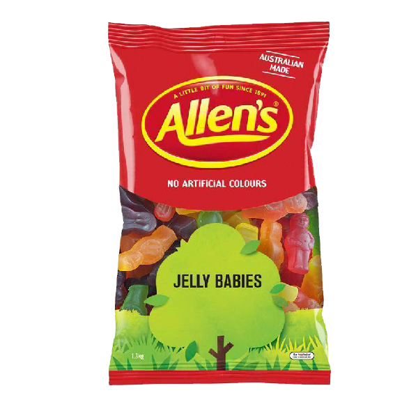 Allen's Juicy Jelly babies