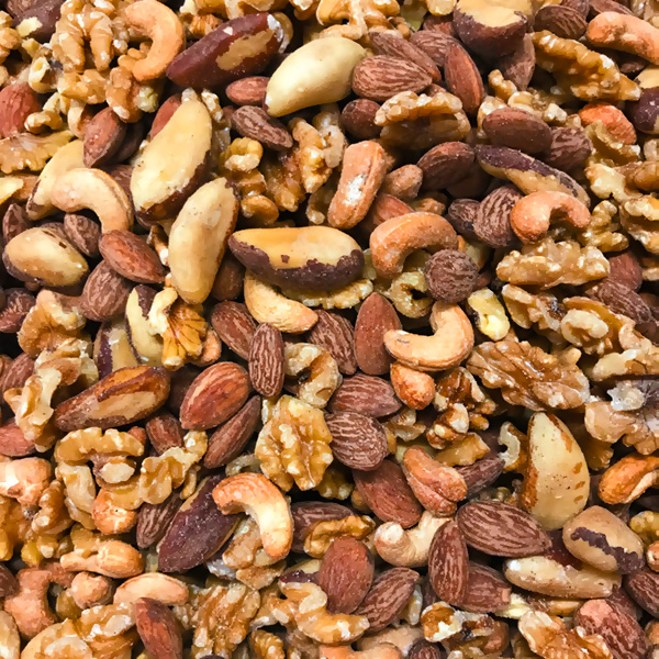 Unsalted Roasted Mixed Nuts -Ross's blend