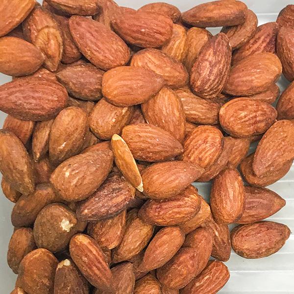 Lemon Roasted Almonds