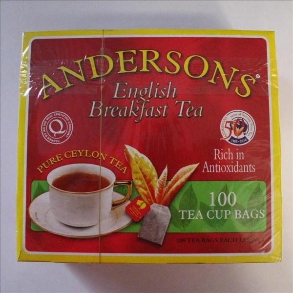 Anderson English Breakfast Tea 100's