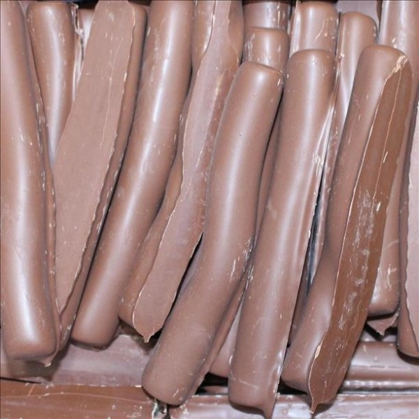Chocolate Coated  Licorice Logs