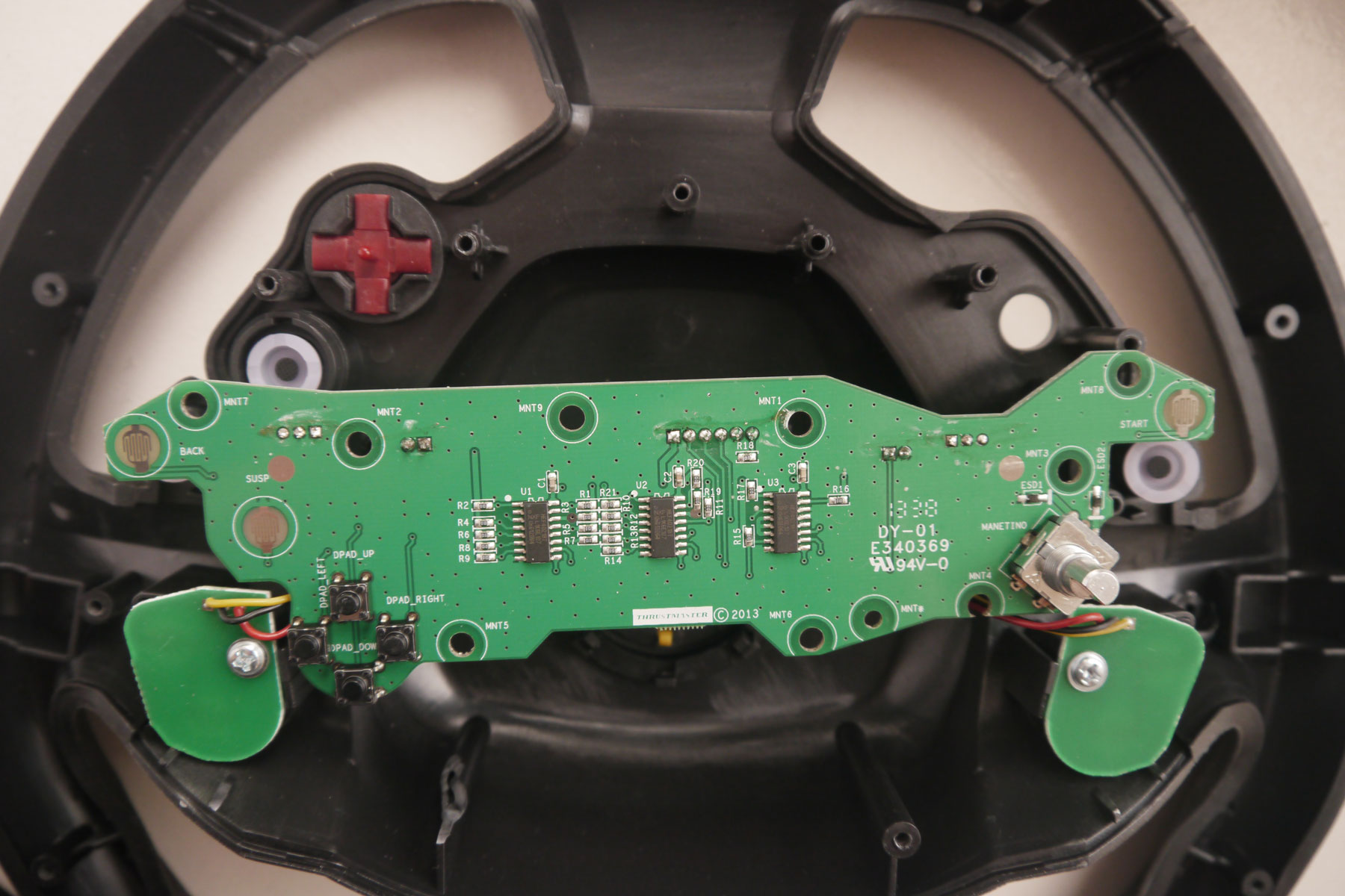 Hacking A Thrustmaster TX RW Gaming Wheel With Arduino Uno Part 1 My Techy Life