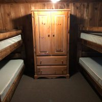 Armoire in Bunk Room