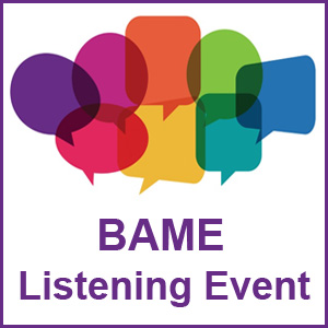 BAME Listening Event image