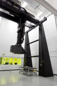 Photo of LaserUT Gantry, CNDI Industrial Campus