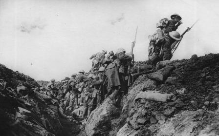 Canadians During Battle of Vimy Ridge