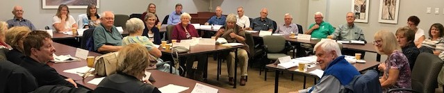 Photo of Heritage Group meeting of September 21, 2017.