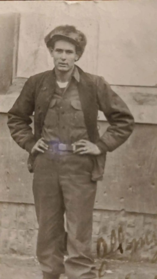 Robert Chapman Sr. while in the US Army in Korea