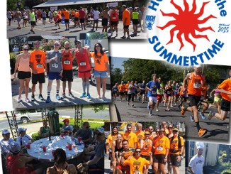 Hot Run in the Summertime 2015 collage